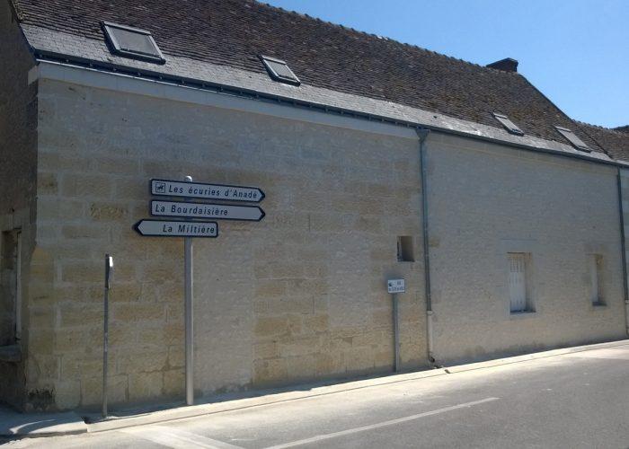 Rénovation Montlouis sur loire Façade après restauration