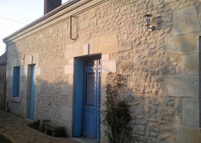 Rénovation montlouis sur loire d'une façade