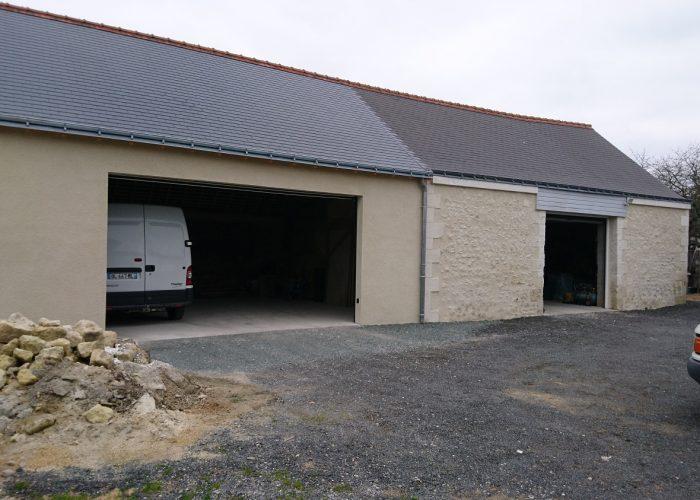 Maçonnerie Montlouis sur loire Garages rénovés