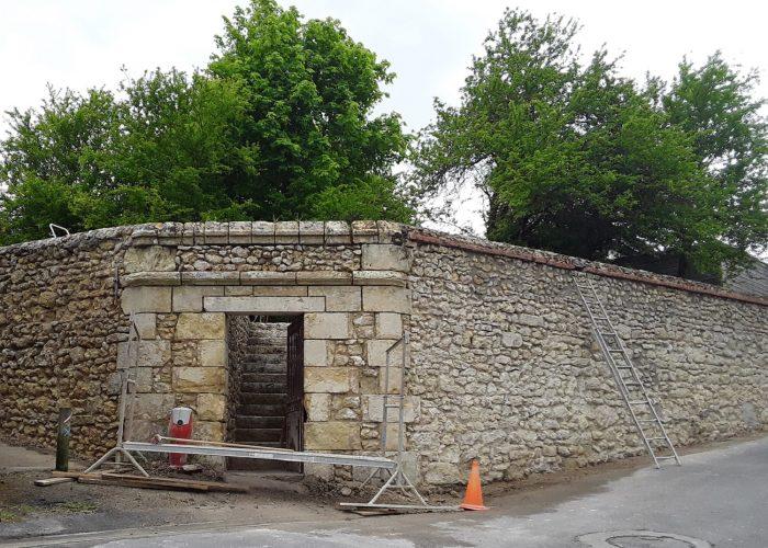 Un mur rénové